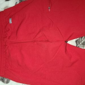 RED YOLA PANTS